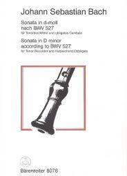 Sonata in D minor for Tenor Recorder & Harpsichord based on BWV 527