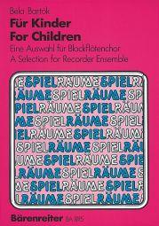 For Children. Recorder Ensemble