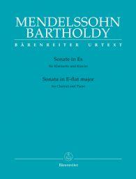 Sonata  in E-flat major for Clarinet & Piano