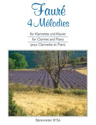 4 Melodies for Clarinet & Piano
