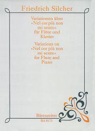 Variations on Nel cor più non mi sento (Flute and Piano)