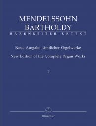 New Edition of the Complete Organ Works I