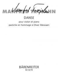 Danse for Violin & Piano