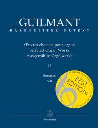 Selected Organ Works II: Sonatas 5-8