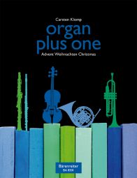 organ plus one: Christmas, Advent (Score & Parts)