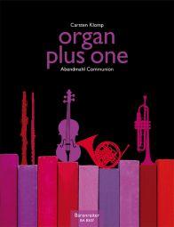 organ plus one: Communion (Score & Parts)