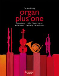 organ plus one: Reformation - Hymns by Martin Luther (Score & Parts)