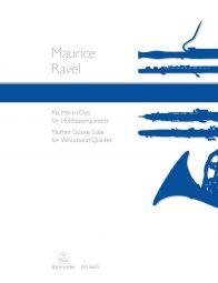 Mother Goose Suite arranged for Woodwind Quintet
