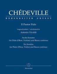 Il Pastor Fido. Six Sonatas for Flute (Oboe, Violin) and Basso continuo