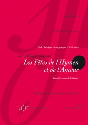 Les Fetes de l'Hymen at de l'Amour RCT 38 (Vocal Score)