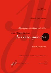 Les Indes galantes RCT 44 (Vocal Score)