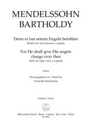 For He Shall Give His Angels Charge Over Thee - Psalm 91 (Vocal Score)