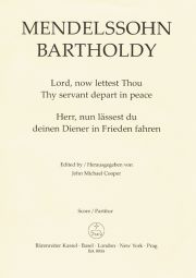 Lord Now Lettest Thou Thy Servant Depart In Peace Op.69 (Vocal Score)