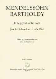 O Be Joyful In The Lord Op.69 (Vocal Score)