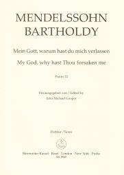Psalm 22 My God, why hast Thou forsaken me Op.78 (Vocal Score)