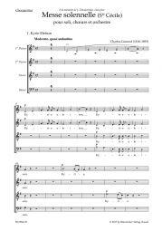 Messe solennelle (Ste Cécile) (Choral Score)