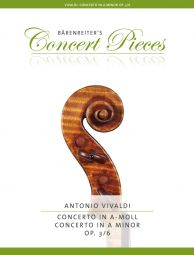 Concerto for Violin in A minor Op.3/6 (Violin & Piano)