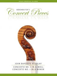 Concerto No. 1 for Violin in A minor Violin and Piano
