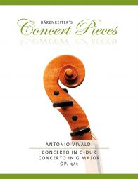 Concerto for Violin in G major Op.3/3 (RV 310) (Violin & Piano)