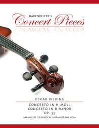 Concerto in E minor Op.35 for Viola from the Concerto for Violin in B minor (Viola & Piano)