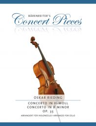 Concerto in D minor Op.35 for Cello from the Violin Concerto in B minor (Cello & Piano)