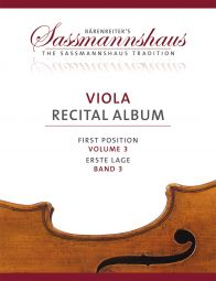 Viola Recital Album Volume 3