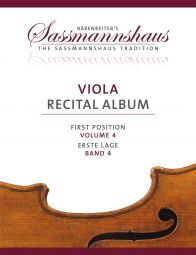 Viola Recital Album Volume 4