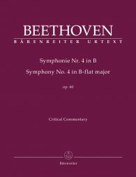 Symphony No.4 in B-flat major Op.60 (Critical Commentary)