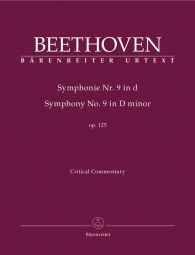 Symphony No.9 in D minor Op.125 (Critical Commentary)