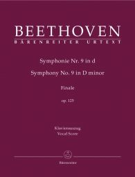 Symphony No.9 in D minor Op.125 (Vocal Score)