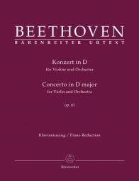 Concerto for Violin in D major Op. 61 (Violin & Piano)