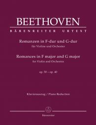 Romances for Violin and Orchestra Op.50 and Op.40 (Violin & Piano)