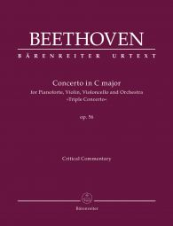 Concerto for Piano, Violin and Violoncello in C major Op.56 (Triple Concerto) (Critical Commentary)