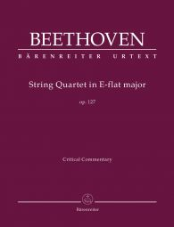String Quartet in E-flat major Op.127 (Critical Commentary)