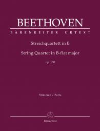 String Quartet in B-flat major Op.130 (Parts)