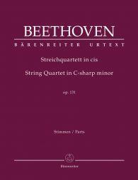 String Quartet in C-sharp minor Op.131 (Parts)