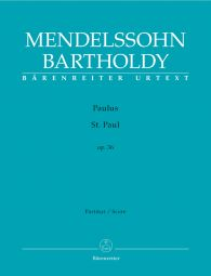 St. Paul Op.36 (Full Score, hardback)