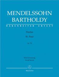 St. Paul Op.36 (Vocal Score)