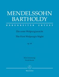 The First Walpurgis Night Op.60 (Vocal Score)