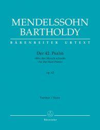 Psalm 42 As the Hart Pants Op.42 (Full Score)