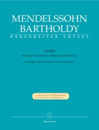 Lieder for High and Medium Voice and Piano
