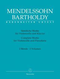 Complete Works for Violoncello & Pianoforte I & II (special price)