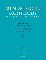 Concerto for Violin in E minor Op.64 Early version (Violin & Piano)