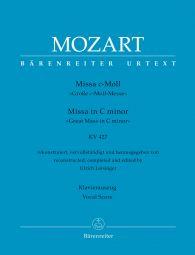 Missa in C minor (K.427) (Great Mass in C minor) (Vocal Score)