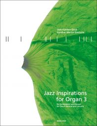Jazz Inspirations for Organ 3: Popular Music for Church Services and Concerts