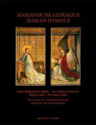 Marian Hymns II: Alma Redemptoris / Ave Regina / Regina coeli / Ave maris stella (Voice & Organ)