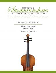 Violin Recital Album Volume 1 (Violin & Piano / Two Violins)
