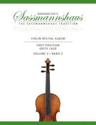 Violin Recital Album Volume 2 (Violin & Piano / Two Violins)