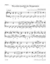 Cantata No.1 Wie schön leuchtet der Morgenstern (BWV 1) (Organ)