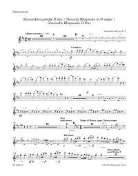 Slavonic Rhapsody No.1 in D major Op.45 (Wind Set)